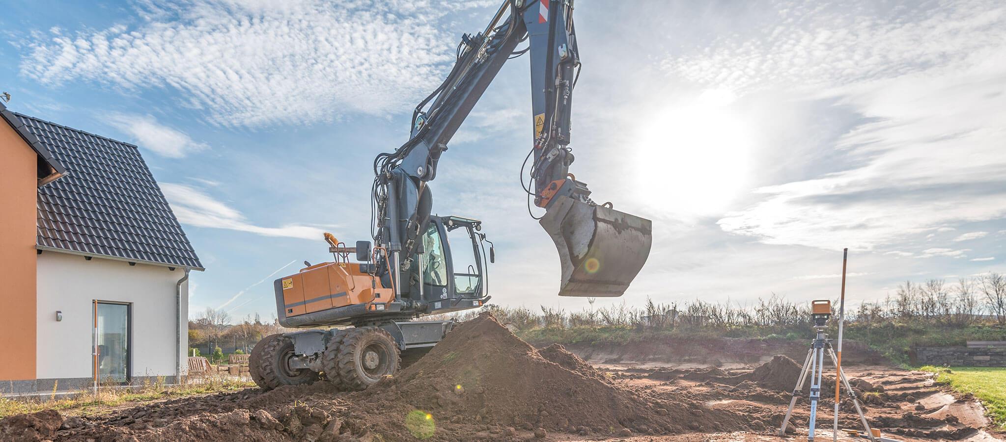 Erdbewegungen bei Pabst Umweltservice GmbH