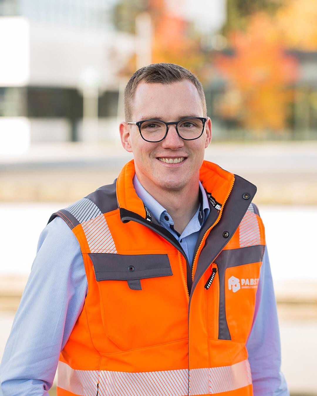 Matthias Pabst, Geschäftsführer der Pabst Umweltservice GmbH